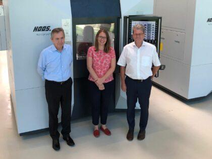 HaaS Schleifmaschinen werden jetzt mit ODION Digital Factory ausgestattet